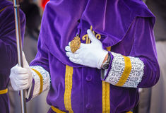Purple Nazareno Royalty Free Stock Photos