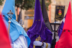 Purple Nazareno Royalty Free Stock Image