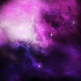 Purple Nebula Royalty Free Stock Photos
