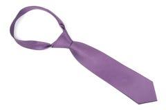 Purple necktie stock photography