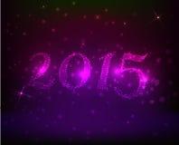 Purple New Year background Stock Photos