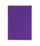 Purple notebook Royalty Free Stock Images