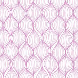 Purple ogee stripes seamless pattern background Stock Image