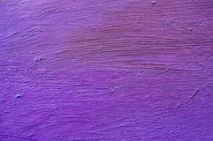 Purple oil hand painted texture Stock Image