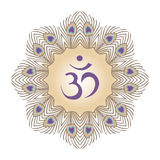 Purple Om Royalty Free Stock Image