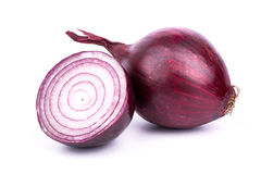 Purple onion Stock Photography