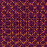 Purple and orange abstract pattern Stock Images