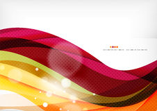 Purple and orange color lines royalty free illustration