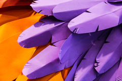 Purple and orange paper background Stock Photography