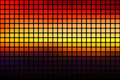 Purple orange yellow red brown abstract rounded mosaic backgroun Royalty Free Stock Photography