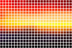 Purple orange yellow red brown abstract rounded mosaic backgroun Royalty Free Stock Images