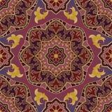 Purple oriental ornament. Stock Photos