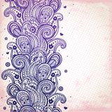 Purple ornament Royalty Free Stock Photo