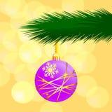 Purple ornament Stock Photo