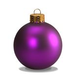 Purple ornament with clipping path royalty free stock image