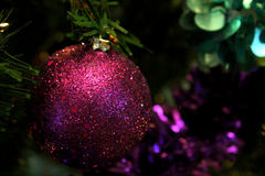 Purple Ornament Stock Photography