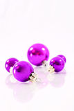 Purple Ornaments Royalty Free Stock Photo