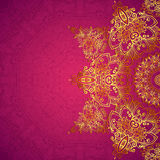 Purple ornate vintage wedding card background Royalty Free Stock Photo