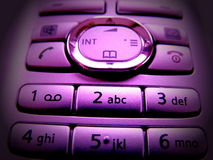 Purple pad Stock Photography