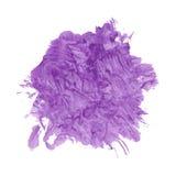 Purple paint splash Stock Photography