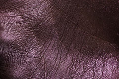 Purple painted macro Skin Background Royalty Free Stock Photos