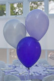 Purple Party Balloons Stock Photography