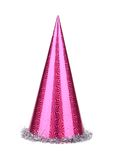 Purple party hat cone. Royalty Free Stock Images