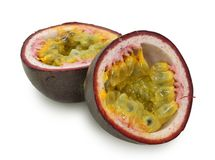 Purple passionfruit Royalty Free Stock Photo