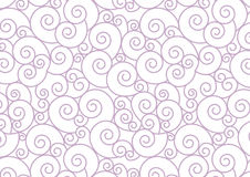 Purple Pastel Spiral on white Vector Background Royalty Free Stock Photography