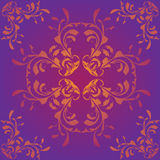 Purple pattern background Royalty Free Stock Image