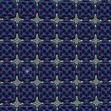Purple patterned fabric Stock Photo