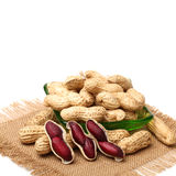 Purple Peanuts Royalty Free Stock Images