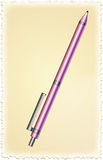 Purple pen Stock Photo