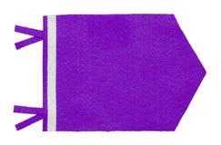 Purple Pennant Flag