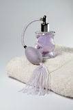 Purple perfume Stock Photo