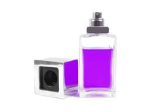 Purple perfume Stock Photos