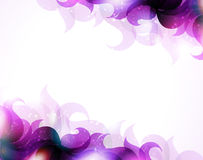 Purple petals background Stock Photo