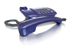 Purple phone Royalty Free Stock Images