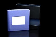 Purple photoalbum Stock Photography