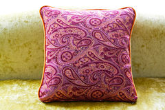 Purple pillow Stock Photography