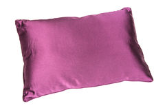 Purple pillow. Isolated on a white background Royalty Free Stock Images