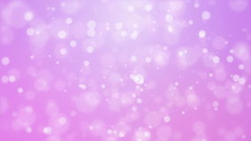 Purple pink background with moving particle lights stock video footage