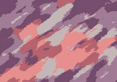 Purple pink and brown painting background Royalty Free Stock Photos