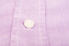 Purple Pink Casual Men Shirt Button Royalty Free Stock Images