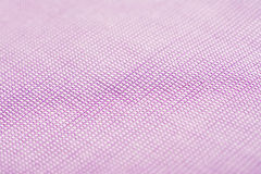 Purple Pink Cotton Shirt Macro Texture Royalty Free Stock Photography