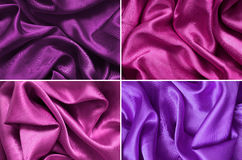 Purple pink fabric texture Royalty Free Stock Image