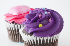 Purple and pink food Stock Images