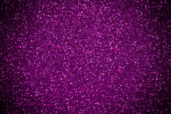 Purple-Pink glitter shines background Stock Photography