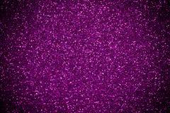 Purple-Pink glitter shines background Stock Photography