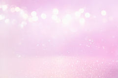 purple and pink glitter vintage lights royalty free stock images